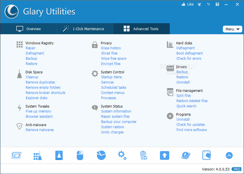 Glary Utilities Pro