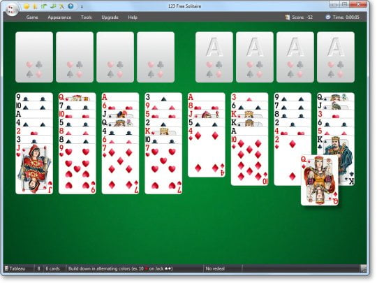 123 Free Solitaire İndir