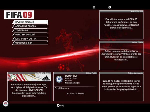 Fifa 09 Türkçe Yama İndir