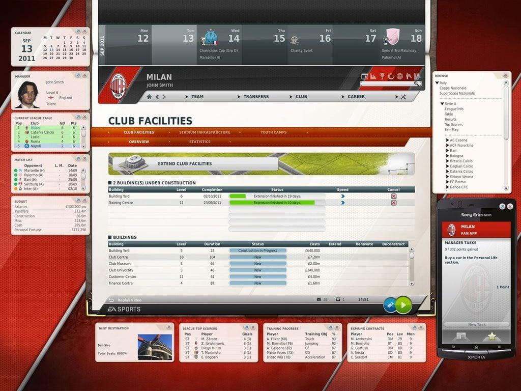 Fifa Manager 12 İndir