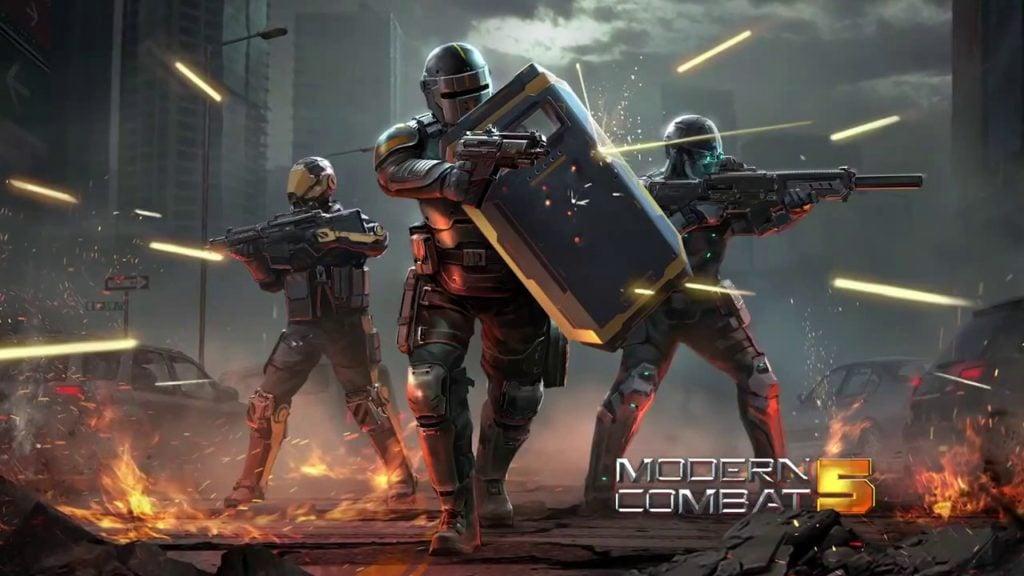 Modern Combat 5 İndir